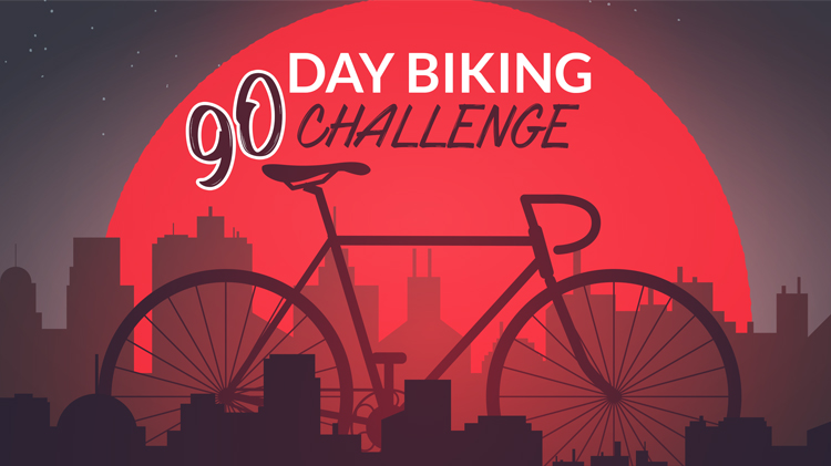 90 Day Biking Challenge