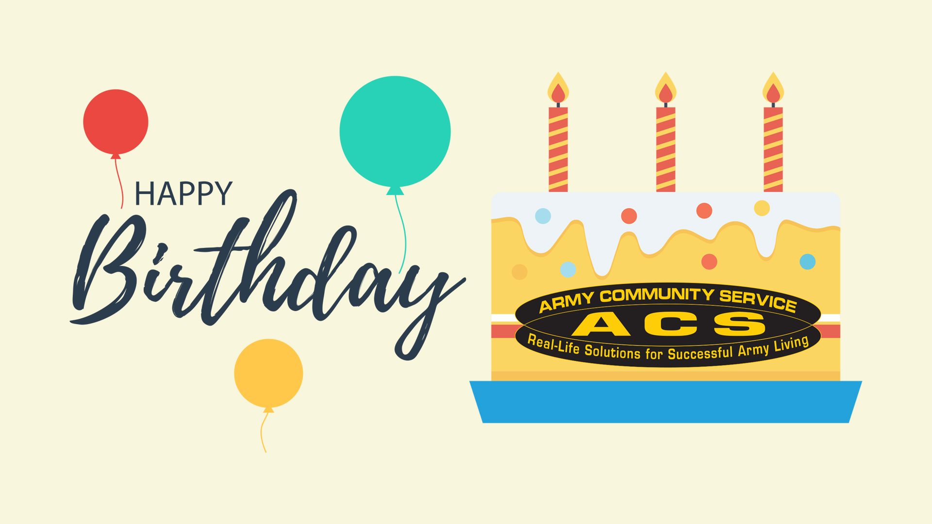 Army Community Service (ACS) Birthday