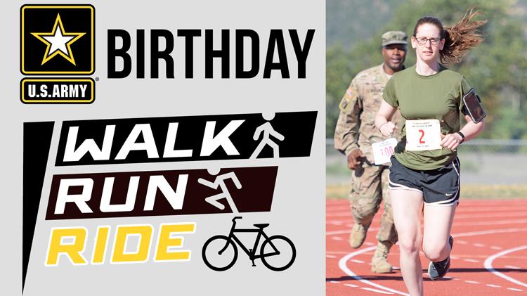 Army Birthday Run/Walk/Ride