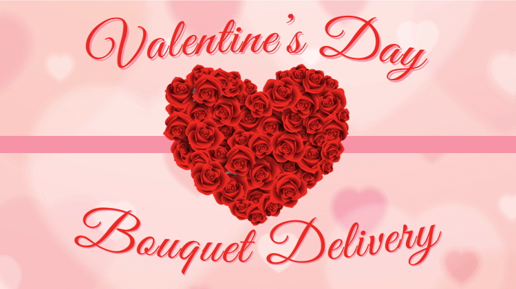 Valentine's Day Rose Delivery