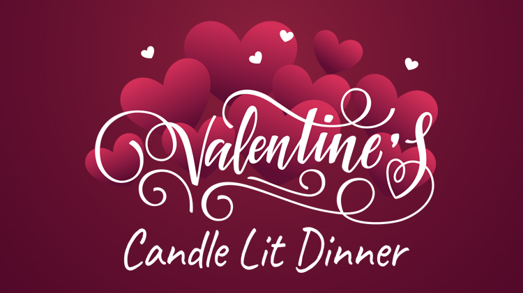 Valentine's Day Candle Lit Dinner