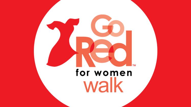 Go Red for Women walk