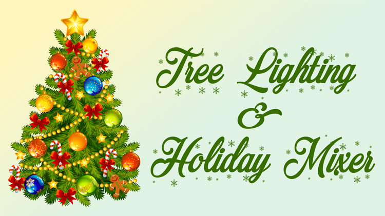Tree Lighting & Holiday Mixer