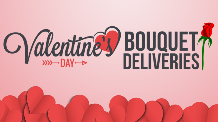 Valentine's Day Bouquet Deliveries