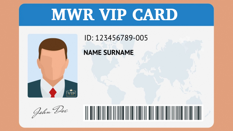 MWR VIP Card
