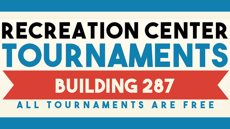 Recreation Center Tournaments