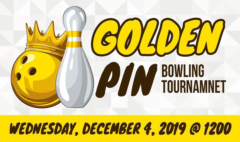 Annual Golden Pin Bowling Tournament.