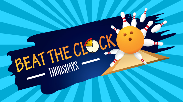 Beat the Clock Thursdays