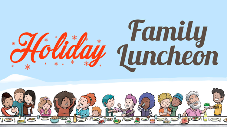 Hoilday Family Luncheon