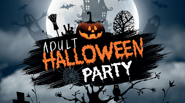 Adult Halloween Party.