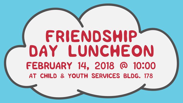 Friendship Day Luncheon