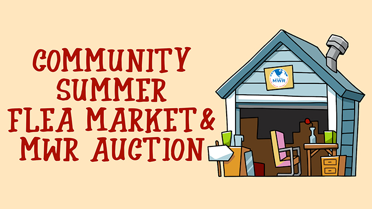 POSTPONED: Flea Market and MWR Auction